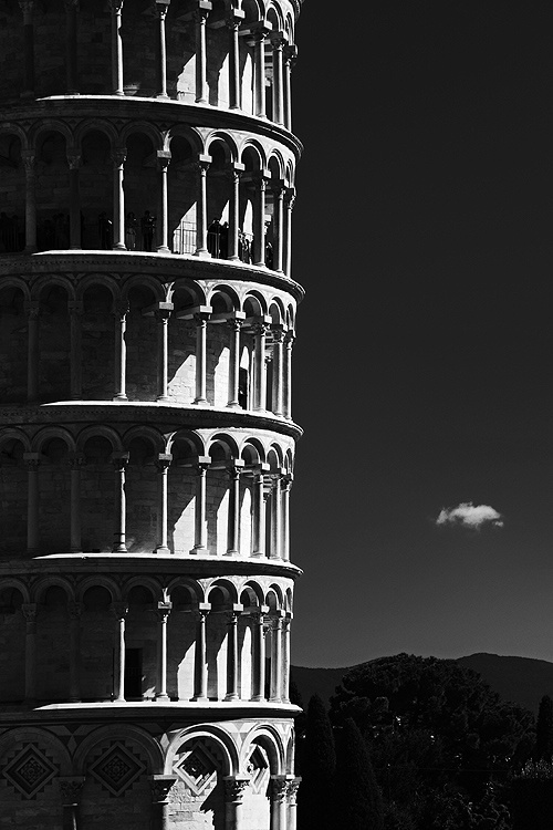 Straight - Leaning Tower of Pisa, Italy