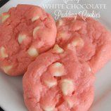 White Chocolate Pudding Cookies - I want to try this with strawberry jello!