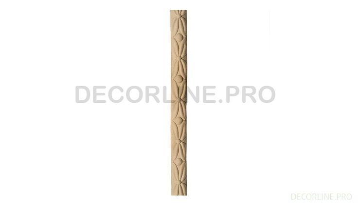 ОРНАМЕНТЫ из древесной пасты OR-51 Размер/Size: 395-20-10. Резной декор из древесной пасты, древесной пульпы, полимера, полиуретана, ППУ, МДФ, прессованный декор, декор из массива, декор из дерева