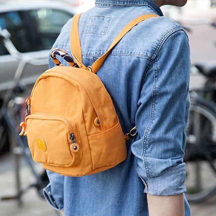Kipling mini backpack: casual & adorable