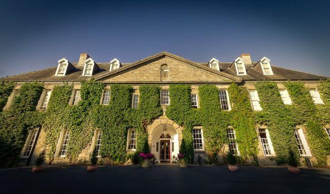 The amazing Georgian Building that is Celbridge Manor Hotel