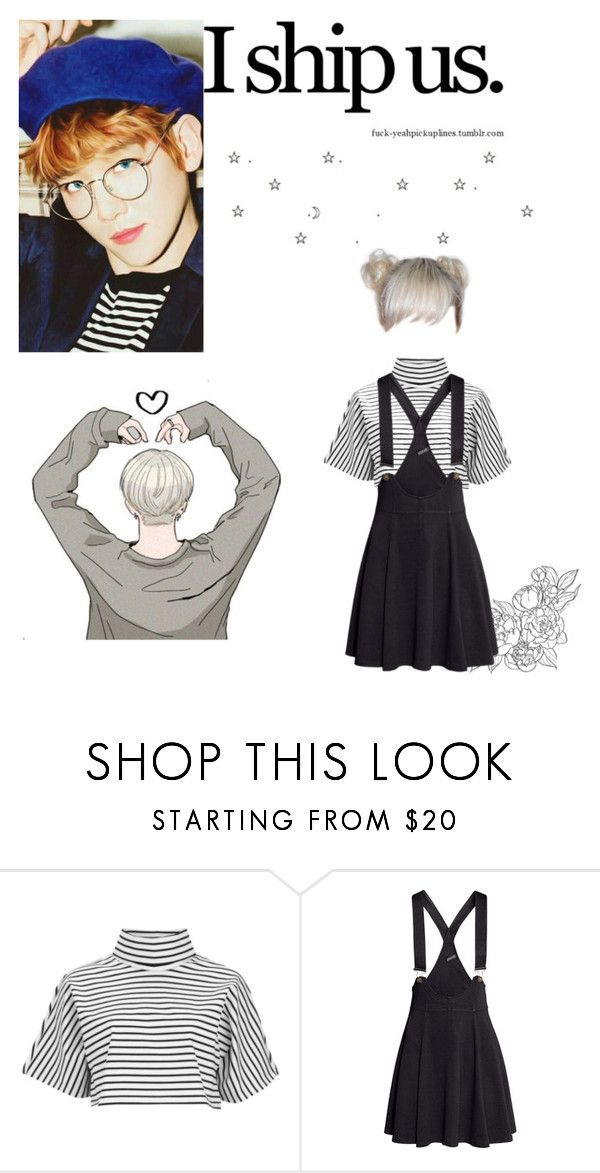 """""""I ship us what about you??"""" by xxkatelynn-lacolexx ❤ liked on Polyvore featuring The Fifth Label and H&M"""