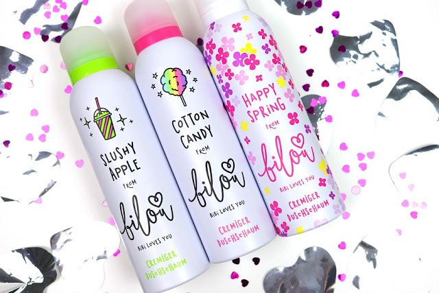 Glam & Shine: Bilou Duschschäume - Slushy Apple, Cotton Candy & ...