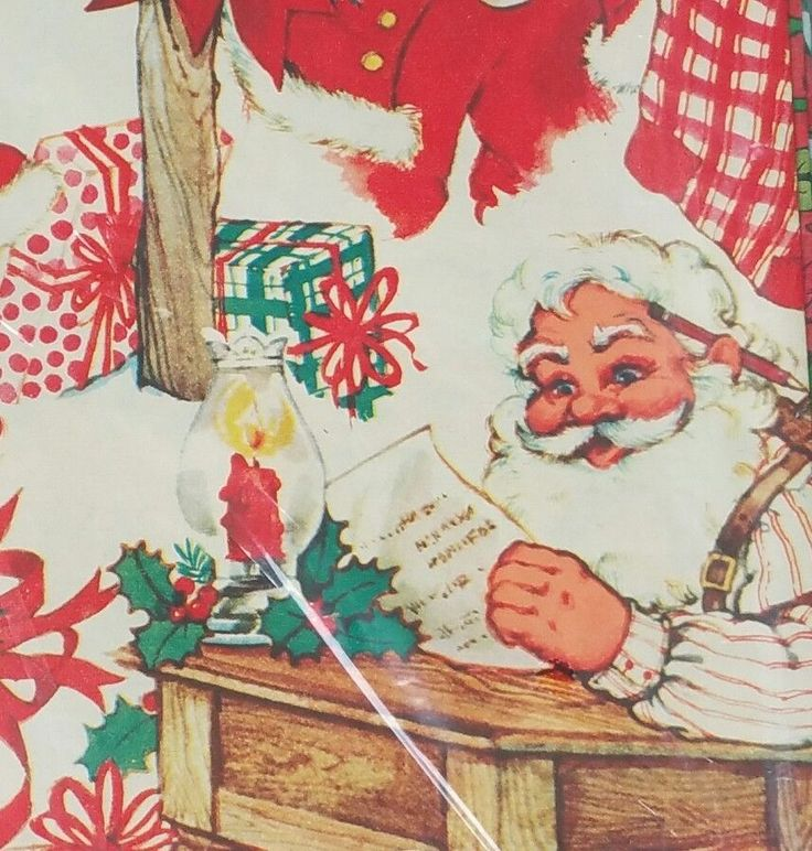 1980s Christmas Wrapping Paper Lot Santa Strawberry Shortcake Bears Vintage | Collectibles, Paper, Gift Wrap | eBay!