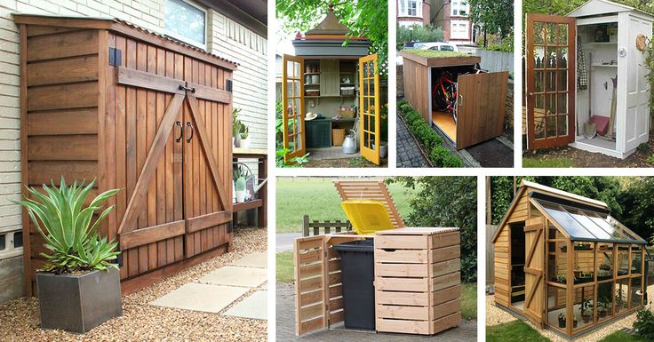 Small storage shed projects and ideas are simple to complete, and they will make a great addition to your home. Find the best designs!