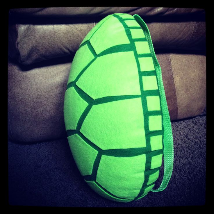 Ninja Turtle Shell Pattern | ... when the shell was complete. It went a little something like this