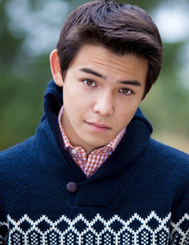 "Ryan Potter. Saw him on TV spots for ""Supah Ninja"". He's pretty beautiful."