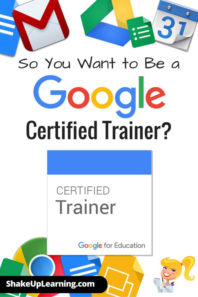 So You Want to Be a Google Certified Trainer: With five different Google Certifications, there is a certification option for just about every educator. But it is important to understand the differences so that you can find your own path, should you choose to pursue a Google certification. That's why I put together this new eBook: The Complete Guide to Google Certifications.