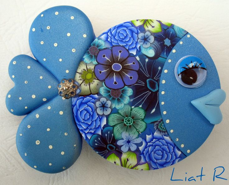 Polymer clay Fish Magnet                                                                                                                                                                                 More