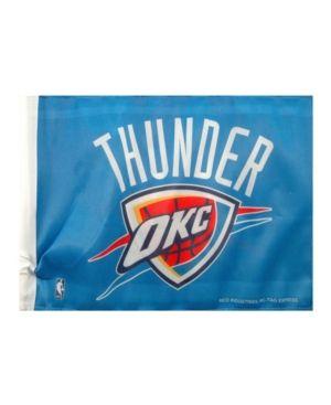 Rico Industries Oklahoma City Thunder Car Flag - Blue