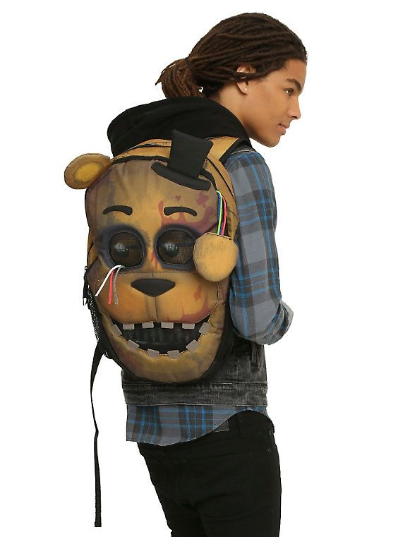 Five Nights At Freddy S Bedroom Decor: Five Nights At Freddy's Freddy Fazbear Backpack,