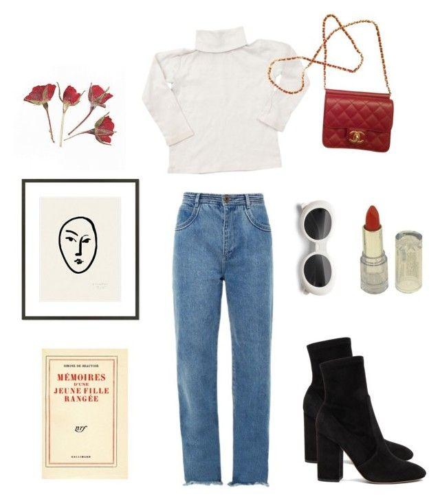 """trendy"" by sixtiesclass ❤ liked on Polyvore featuring Chloé, Valentino, Bonpoint, Chanel and 1000Museums"