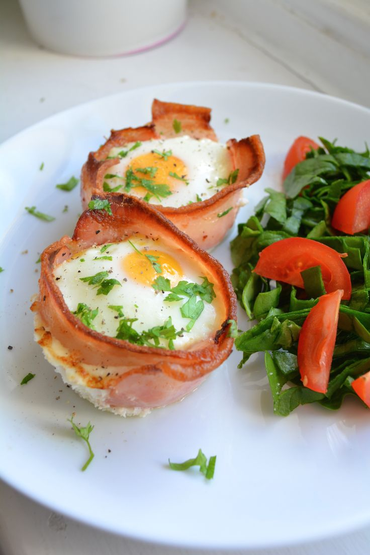 Bacon Egg Cups - Paleo perfection at it's best.
