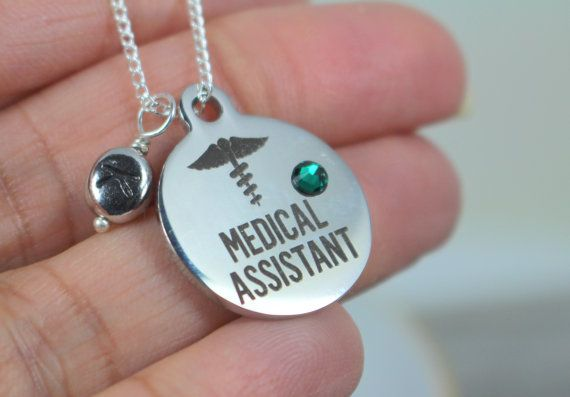 Bijoux Assistant médical cadeau, collier Assistant médical, collier Assistant médical, médecin adjoint, collier cadeau de Graduation