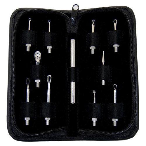 Facial Extractor Skin Care Tool Esthetician Kit - 11 Pieces (AT14045)$22.95