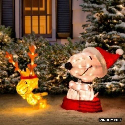 Snoopy - Christmas Decorations