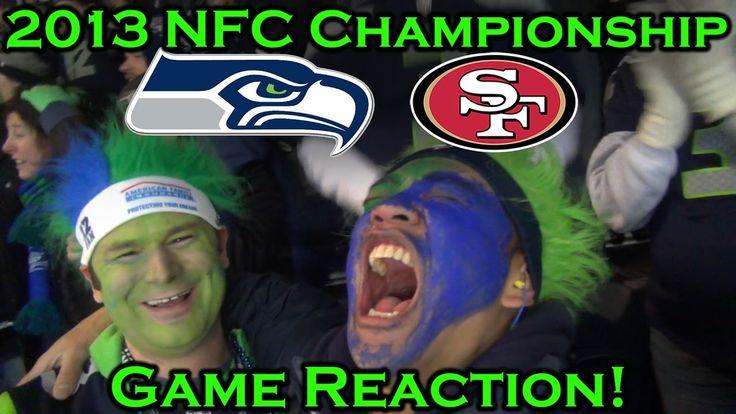 Fan Reaction: 2013 NFC Championship-Seahawks vs 49ers