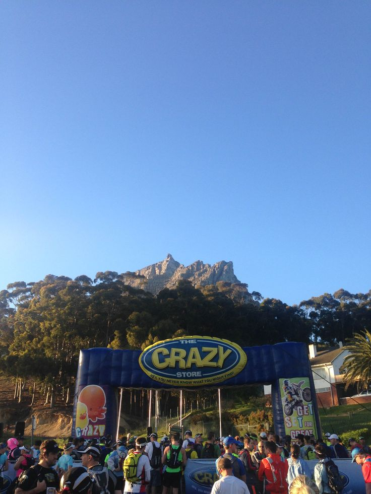 Only for the crazy ones... Table Mountain Challenge 2014.