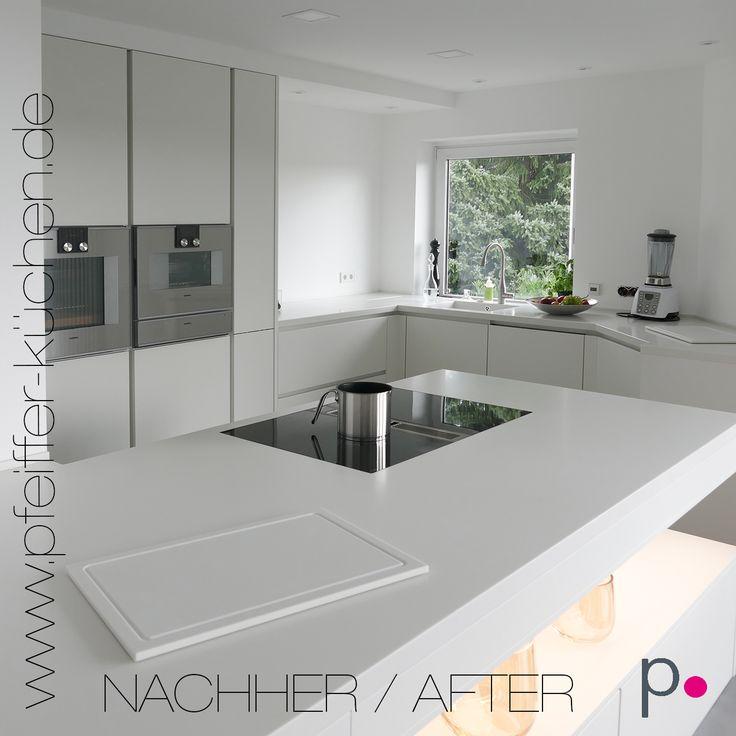 Eine fugenlose Verbindung zwischen Arbeitsplatte und Küchenspüle - küchenrückwand glas bedruckt