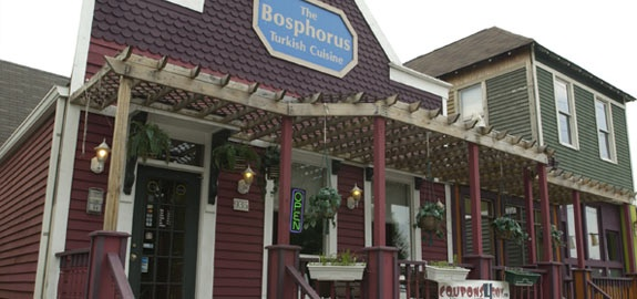 Bosphorus Istanbul Cafe - Turkish food - $$ - 4.5 stars on yelp {Indianapolis, IN}