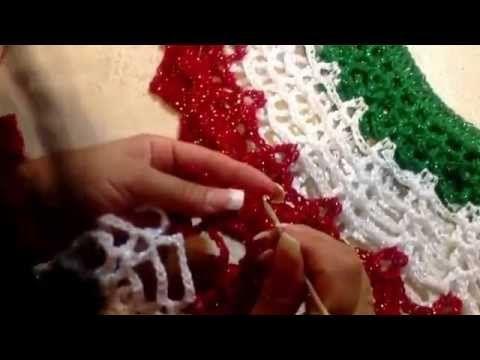 Chaqueta - Tejido con ganchillo - Tejiendo con Laura Cepeda - YouTube