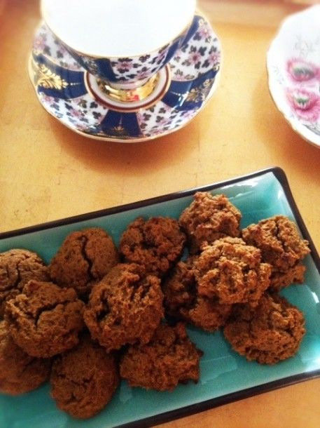 Gluten-Free Pumpkin Spice Cookies Recipe | @Jolene Hart Beauty is Wellness: Baking for Fall Beauty | Organic Spa Magazine