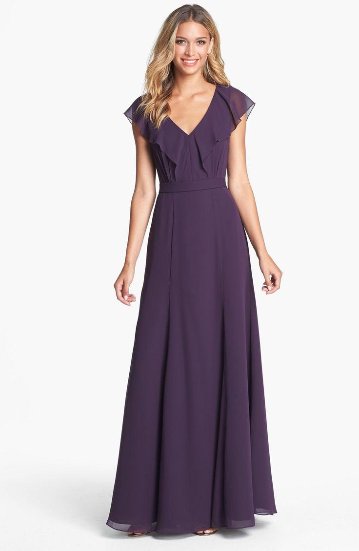 Mejores 20 imágenes de Plum Bridesmaid Dresses en Pinterest | Damas ...