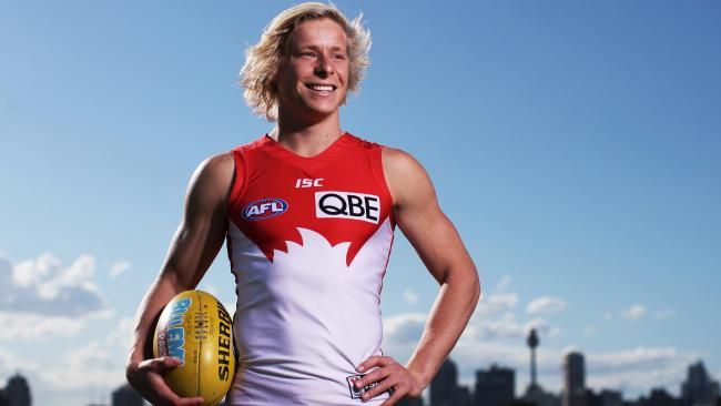 AFL Grand Final 2016 Sydney Swans v Western Bulldogs: Isaac Heeney born for the big stage | Daily Telegraph