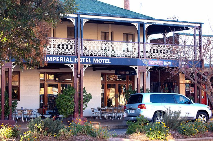 First night spent at Bingara Imperial Hotel in New South Wales, adequately renovated, keeping its old world charm. More trip details http://auztrails.1112763.n5.nabble.com