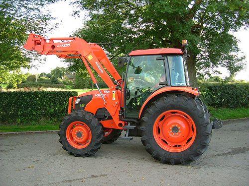 Used Kubota M9540 Tractor