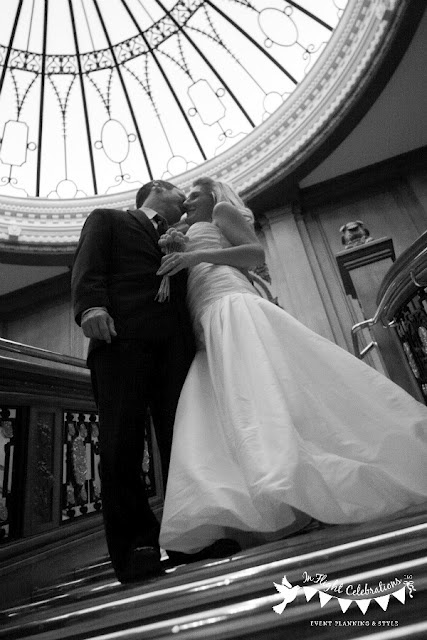 Titanic Wedding  Titanic Museum Pigeon Forge TN  Photography by Kristen Steele Photography