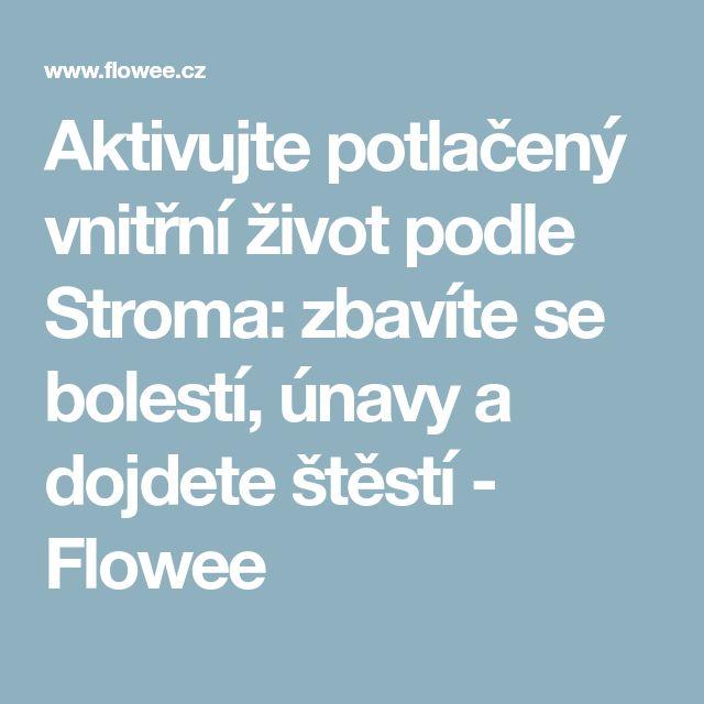Aktivujte potlačený vnitřní život podle Stroma: zbavíte se bolestí, únavy a dojdete štěstí - Flowee