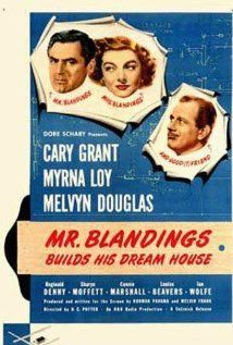 """Mr. Blandings Builds His Dream House"" (dir. H.C. Potter, 1948) --- A man and his wife (Cary Grant and Myrna Loy) decide they can afford to have a house in the country built to their specifications. But it's a lot more trouble than they think!"