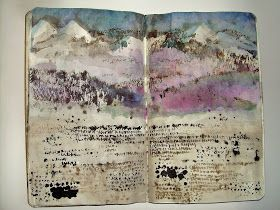 Asemic Journal from Donna Maria de Creeft - via The New Post-literate: A Gallery Of Asemic Writing.