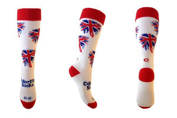 Hockeysokken, Voetbalsokken British Flag