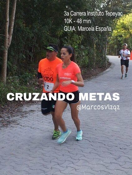 @marcosvlzqz Carrera 10K en la Carrera Instituto Tepeyac GUIA Marcela España