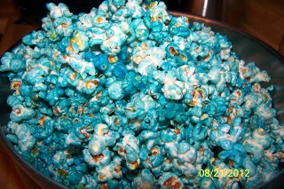 Connor's Cooking: Sugar Crunch Popcorn aka Blue Popcorn