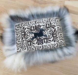 Sheepskin rug... small