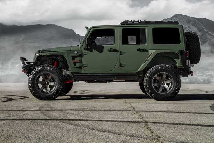 Crazy awesome Jeep.