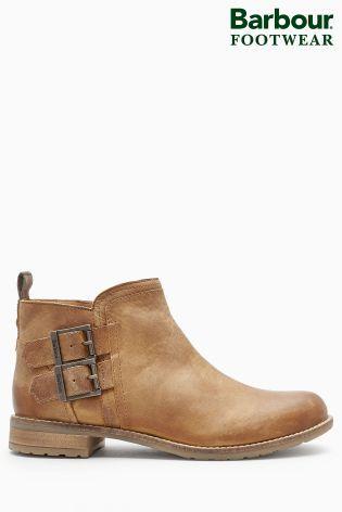 Buy Barbour® Tan Cognac Sarah Low Buckle Boot from the Next UK online shop