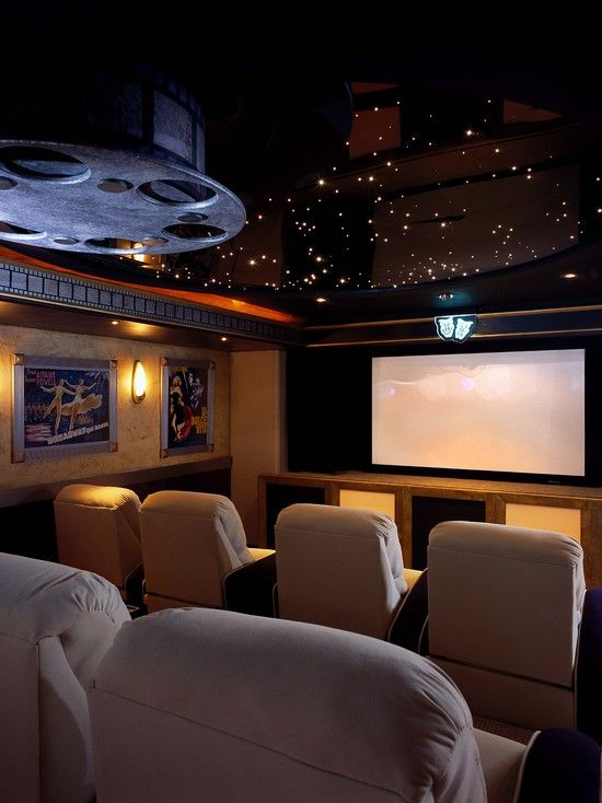 Home Theater Decor on Home Theater Designs Interior Design Ideas