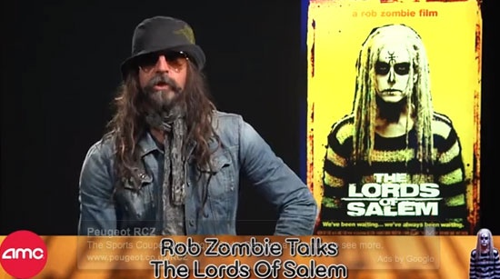 [Watch] Rob Zombie speaks to AMC about The Lords of Salem