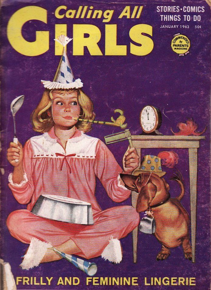 Calling All Girls, January 1963