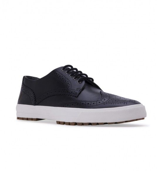FRED PERRY Men's B5226 Ashton Leather Black - New Arrivals - Men