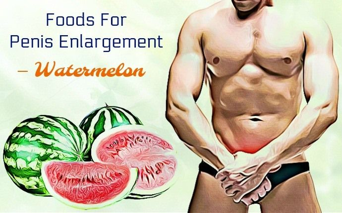 Natural Penis Enlargement Foods