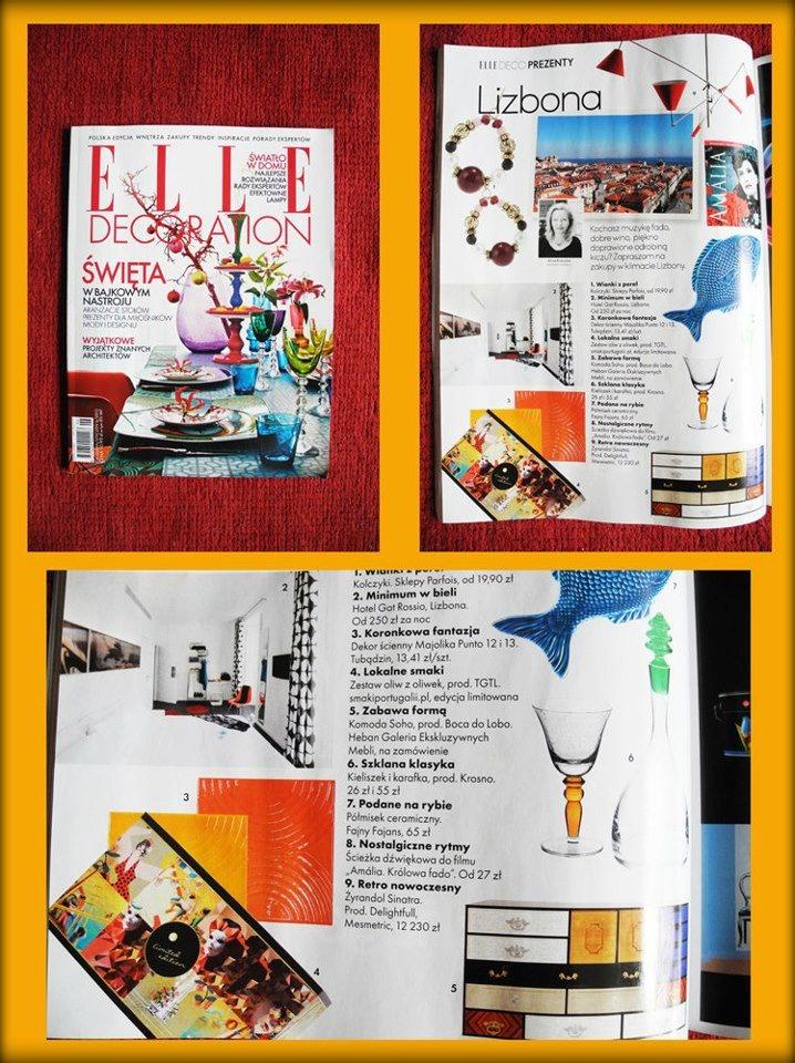 ELLE Decoration Polska - 11.2012    oliwa TGTL - edycja limitowana