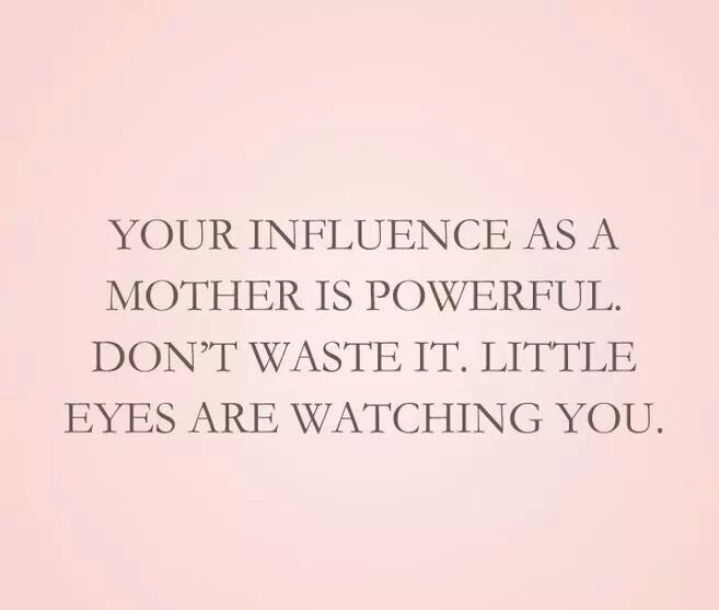 Image result for the influence as a mother is powerful
