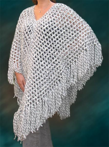 Free Easy Crochet Patterns | Free Crochet Poncho Patterns - Easy Crochet Patterns
