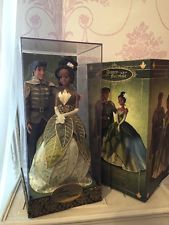 Disney Tiana & Prince Naveen Limited Edition Doll Fairytale Designer Collection