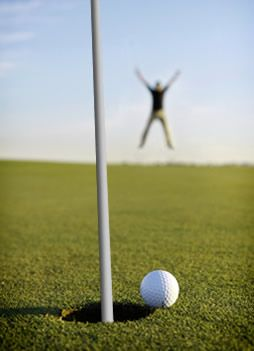 Kevin, one of our Supplier Outreach Interns, wants to cross off getting a hole in one from his bucket list